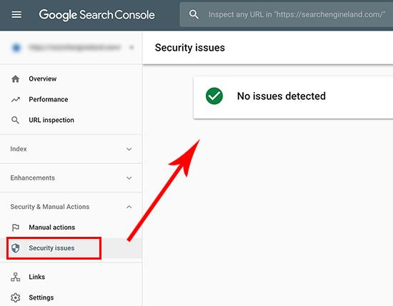 یکی از علائم هک شدن سایت وردپرس در گوگل کنسول