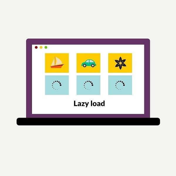 افزونه lazy load