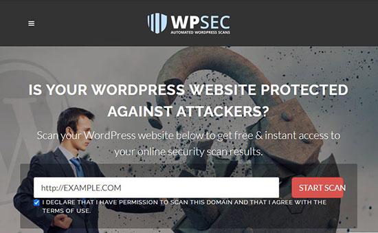 تست امنیت وبسایت با wpscans
