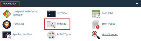 غیرفعال کردن Directory Browsing در هاست سی پنل