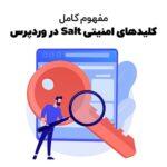 مفهوم salt وردپرس و کاربرد این کلید در امنیت سایت